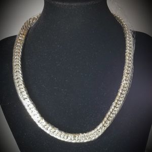 Mens Heavy Sterling Chain 19.5 inches